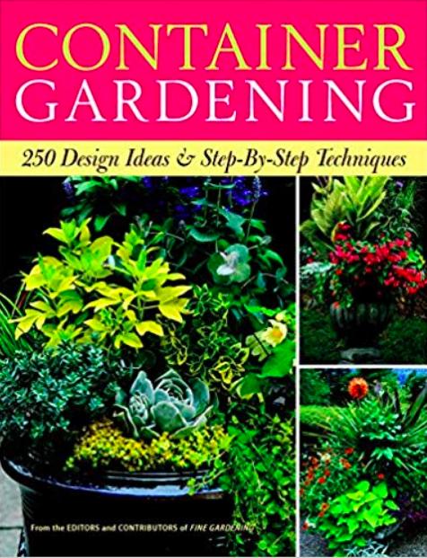 Container Gardening, best gardening books, gardening books, best garden books, container gardening books