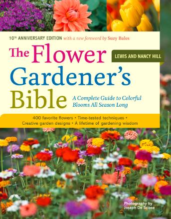 The Flower Gardener's Bible, best gardening books, gardening books, garden books, books for your garden library