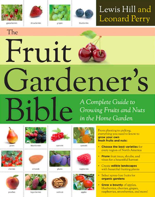 The Fruit Gardener's Bible, best gardening books, best garden books fruit growing bible, growing fruit