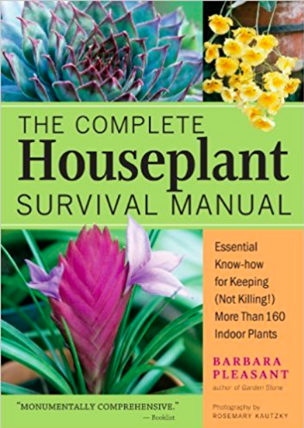 Complete Houseplant Survival Manual, best gardening books, the best gardening books, best garden books