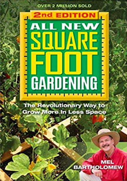 square foot gardening, best gardening books, garden books, best garden reference books