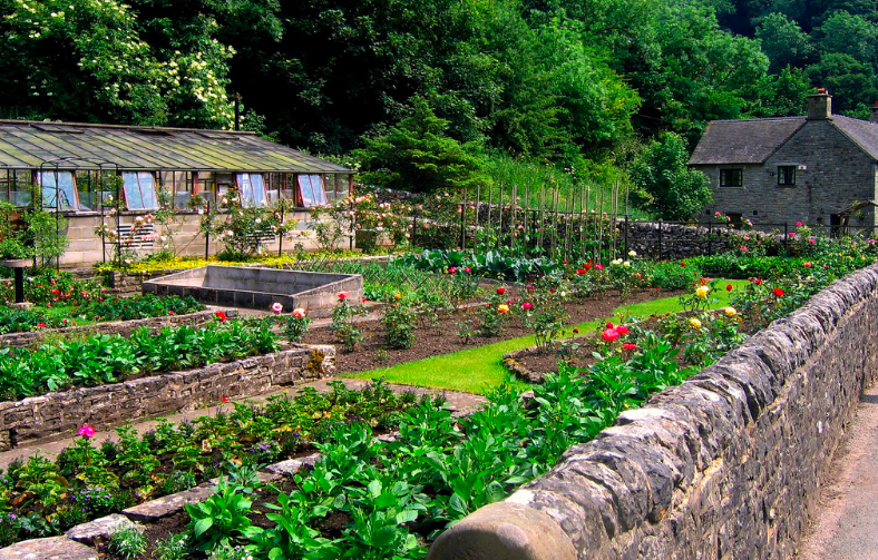 french potager garden