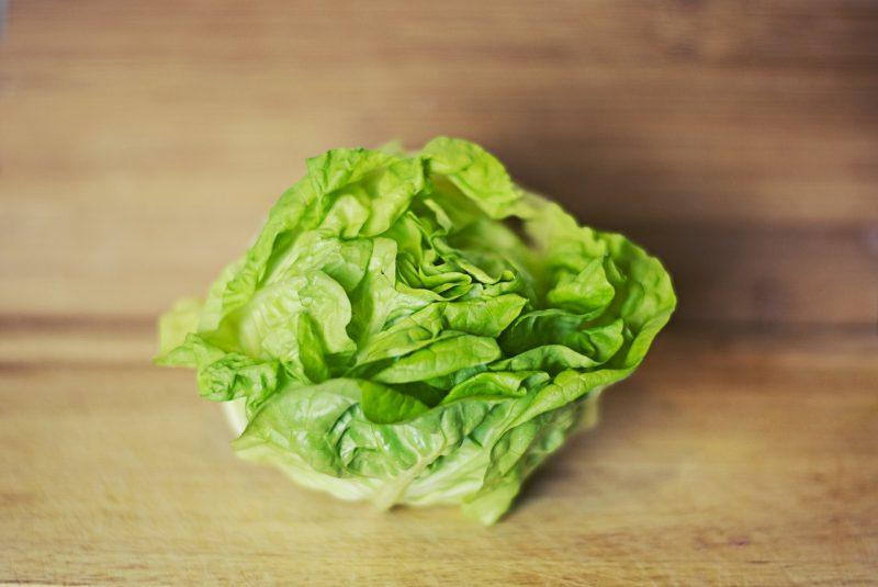 Tennis ball lettuce