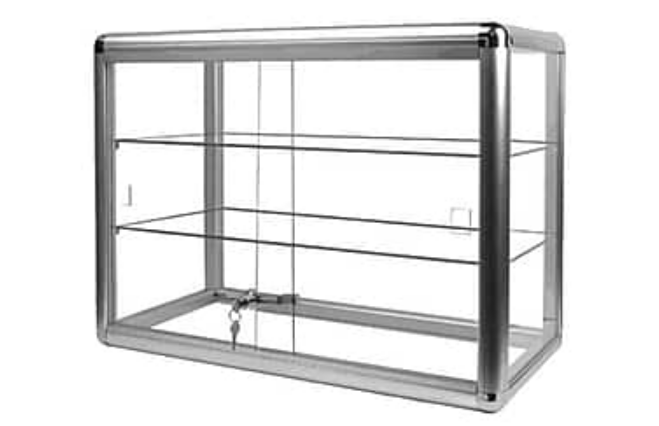 Glass cabinet mini greenhouse