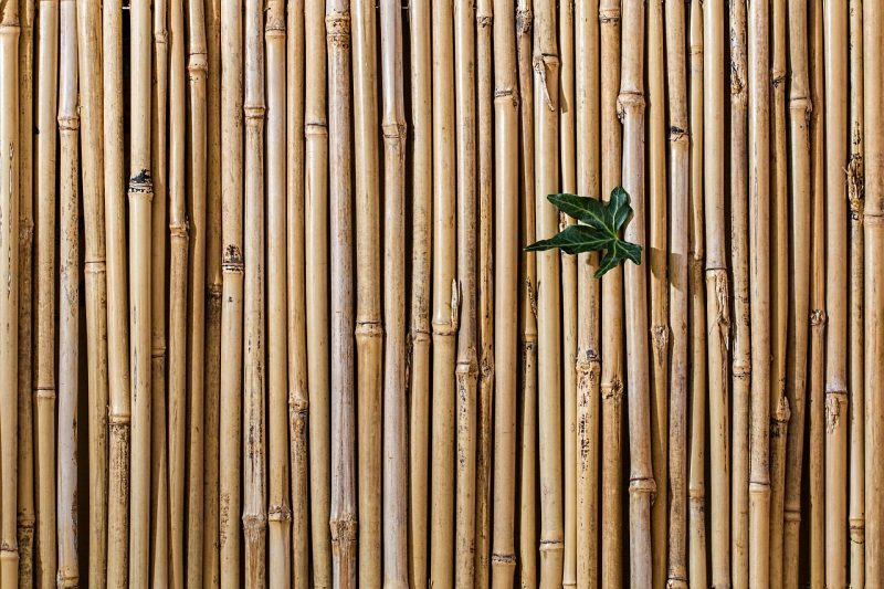 balcony privacy bamboo screen