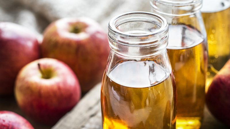Apple cider vinegar for ant bites