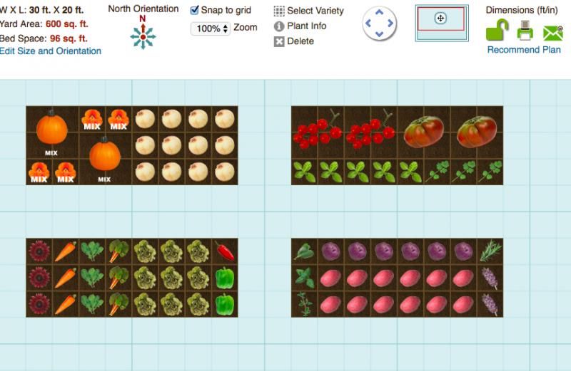 Smart Gardener garden planner