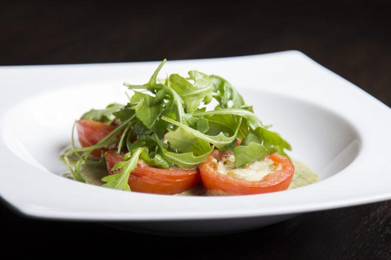 Salad garden arugula