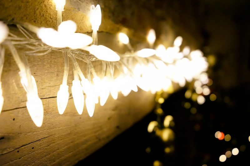 Outdoor holiday lights