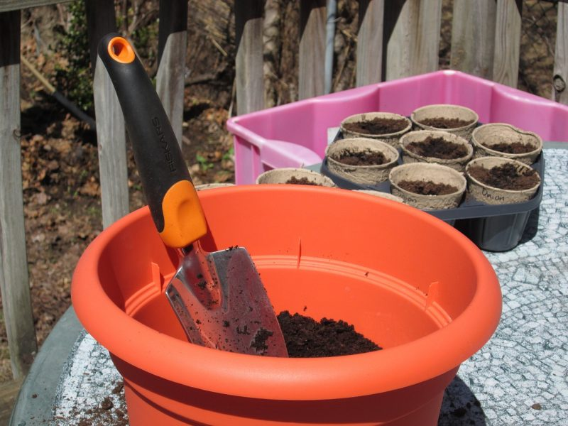 DIY potting mix for containers
