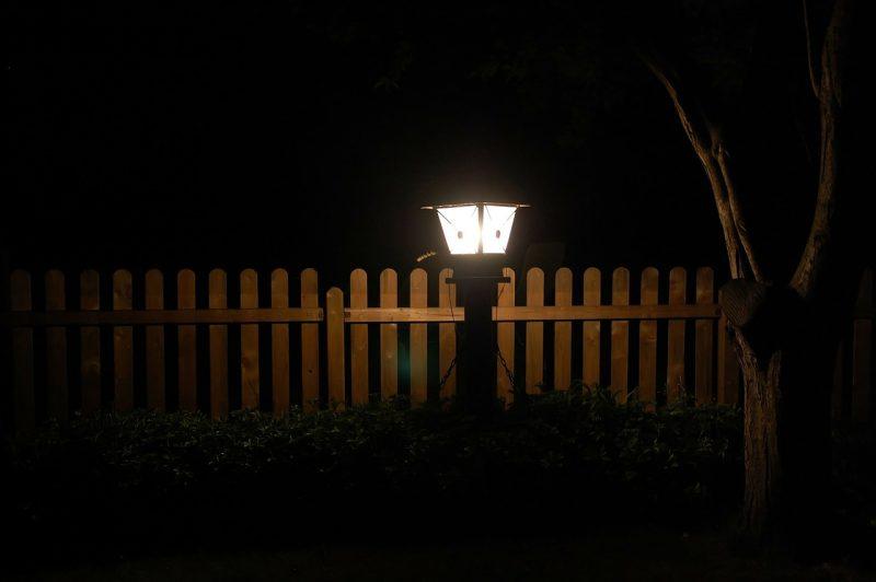Garden solar walkway lights