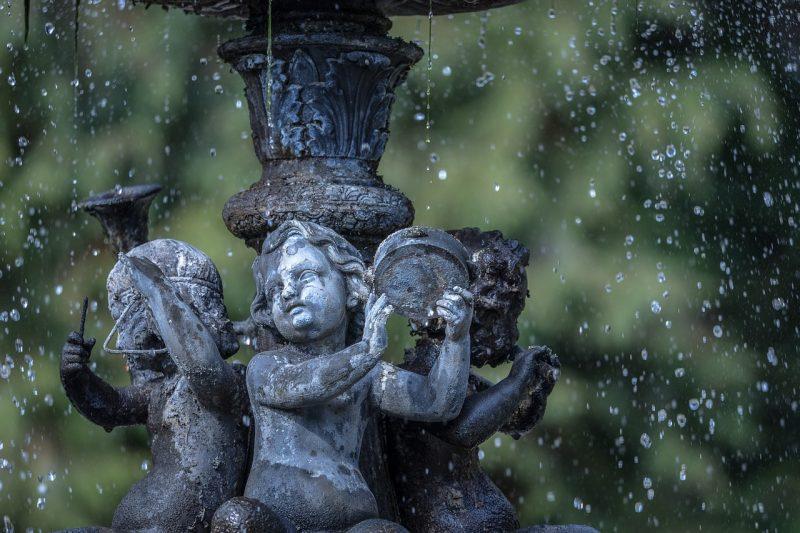 Water features for fairy garden ideas