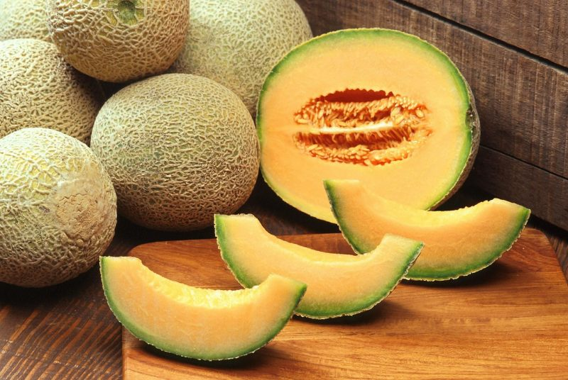 How to harvest and store a cantaloupe plant