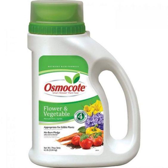 Osmocote plant fertilizer
