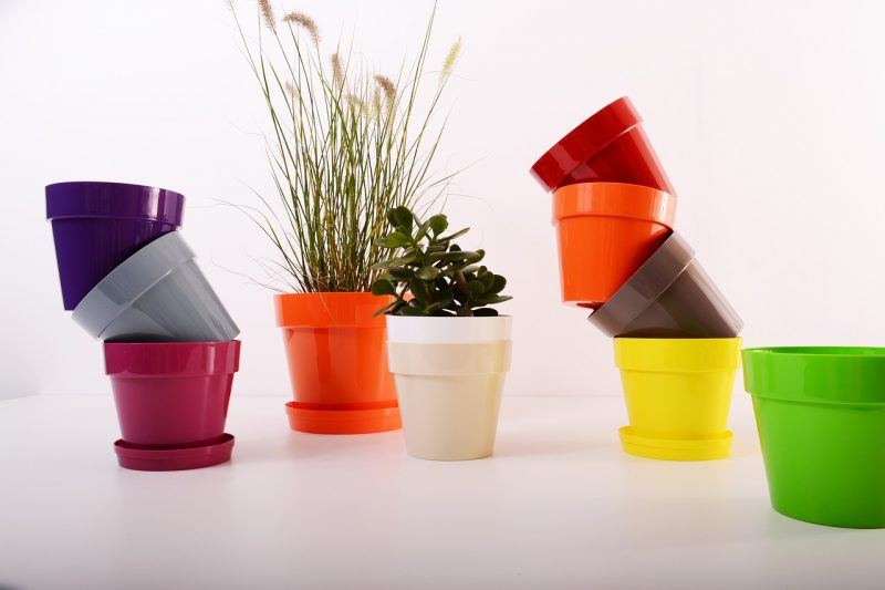 Planters and pots for patio plants