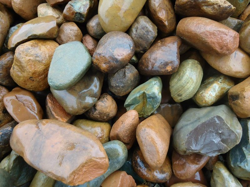 Decorative landscape garden stones