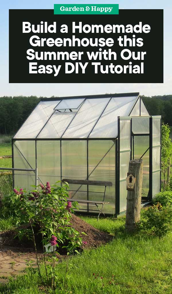 How to Build a Homemade Greenhouse with Our Easy DIY ...