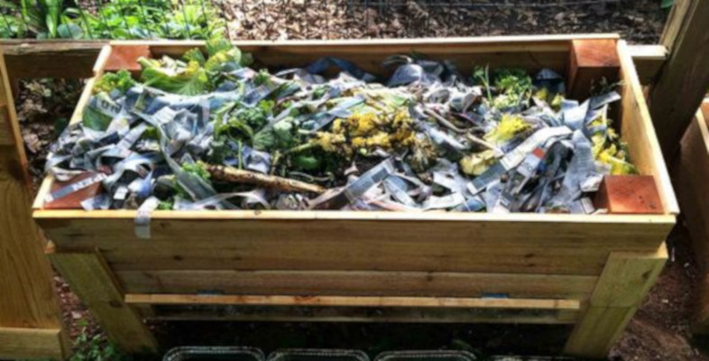 Vermicomposting worm bed