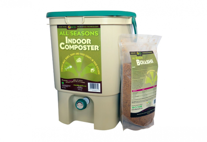 Bokashi indoor compost bin