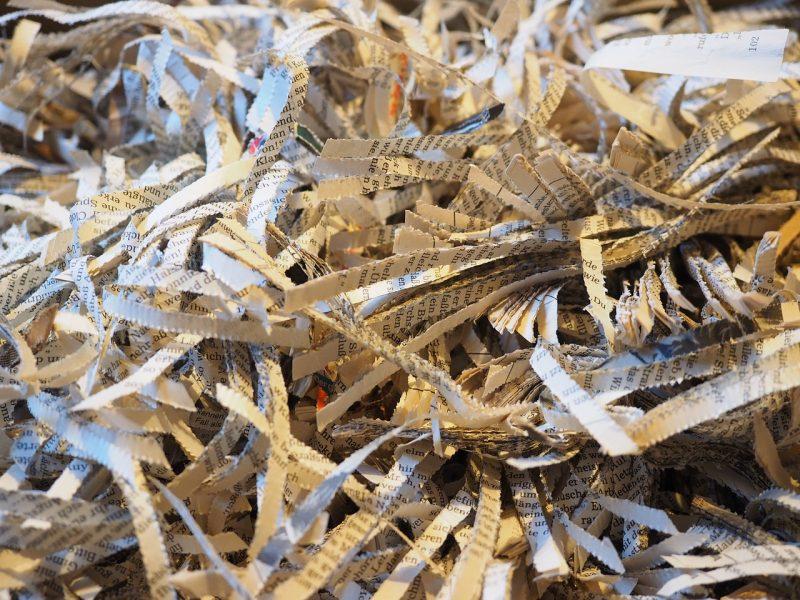 Newspaper mulch