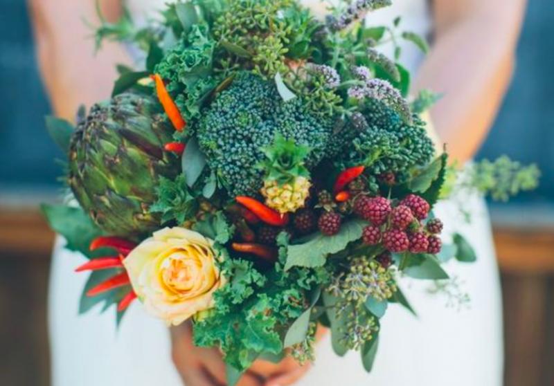 Veg bouquet