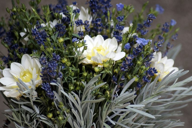 Herb wedding bouquet