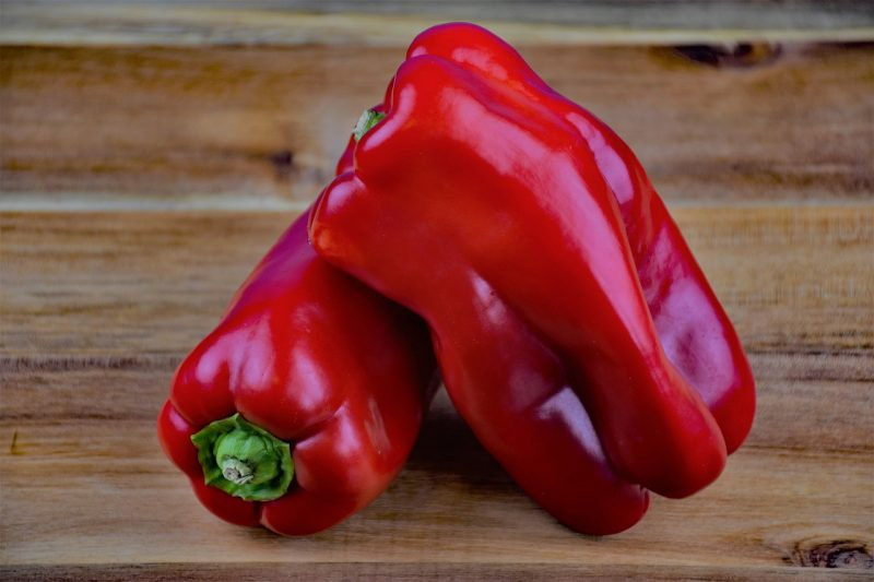 Big Bertha red bell pepper