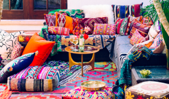 Bohemian balcony furniture