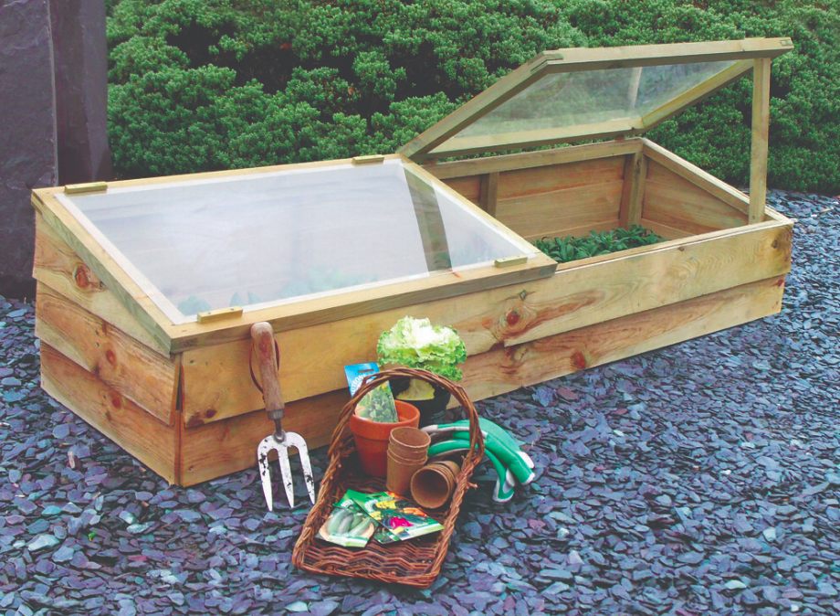 How to Use a Greenhouse or Cold Frame to Extend Your Growing Season
